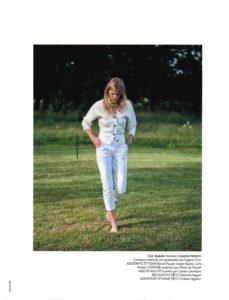 Constance Jablonski dans le magazine ELLE juillet 2019 11