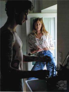 constance jablonski,magazine elle juillet 2019,mod's hair,magazine elle,coiffeur