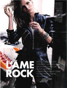 magazine elle,elle,mod's hair,coiffure,rock